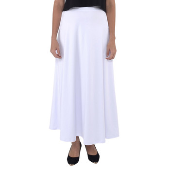 Fully Flared Maxi Skirt