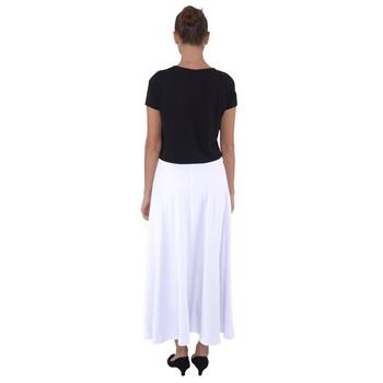 Fully Flared Maxi Skirt