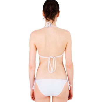 Tie-up Triangle Bikini Set