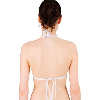 Tie-up Triangle Bikini Top