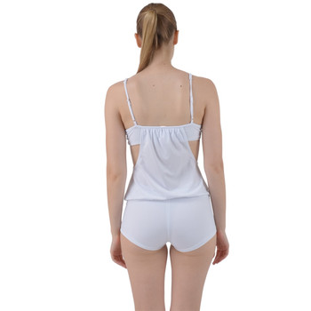 Strappy Tankini Boyleg Shorts Set