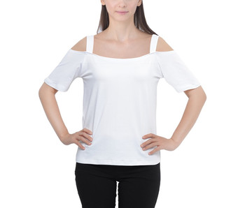 Cutout Shoulder Strap Top