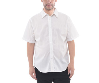 Mens Button Down Short Sleeve Shirt