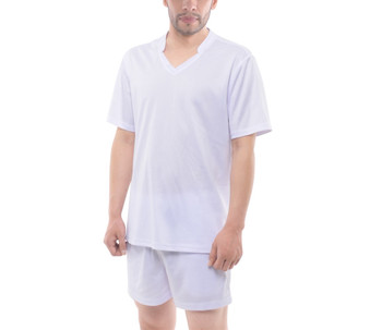 Men's Mesh Tee and Shorts Set