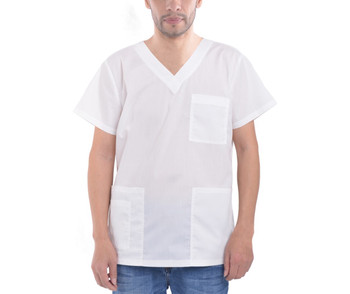 Men's V-Neck Scrub Top