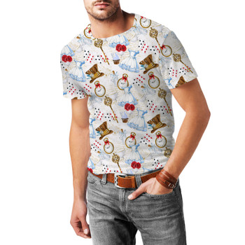 Men's Sport Mesh T-Shirt - Wonderland Icons