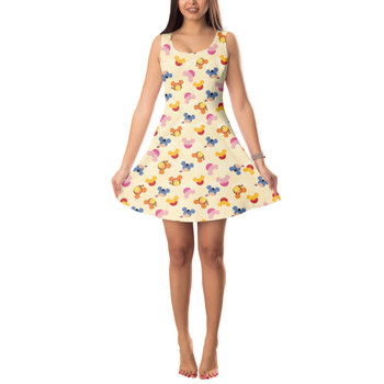 Sleeveless Flared Dress - Pooh & Friends Mouse Ears