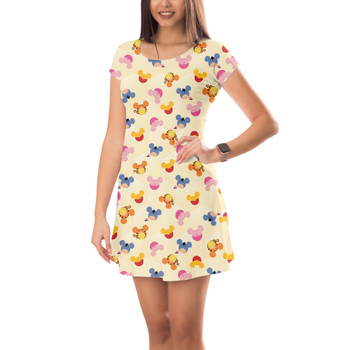 Short Sleeve Dress - Pooh & Friends Mouse Ears