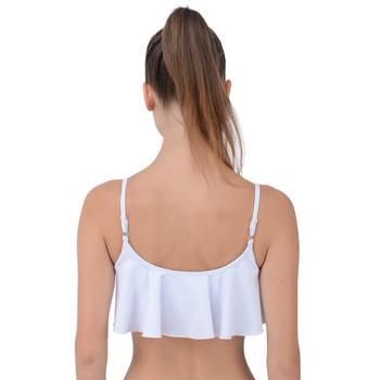 Layered Frill Bikini Top