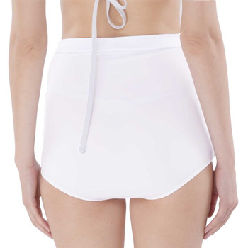 Super High-Waisted Ruched Bikini Bottoms