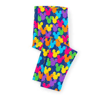 Girls' Capri Leggings - Mickey Ears Balloons Disney Inspired