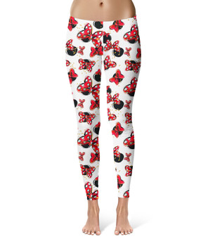 Sport Leggings - Minnie Bows and Mouse Ears
