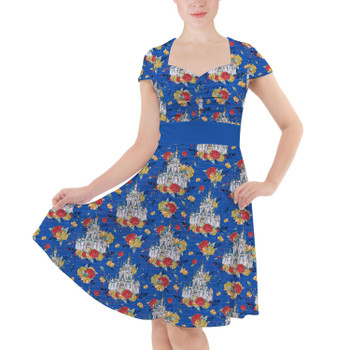 Sweetheart Midi Dress - Happiest Place On Earth