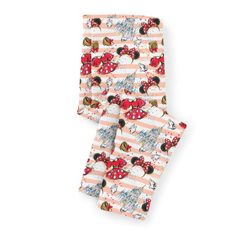 Girls' Capri Leggings - Minnie Best Day Ever