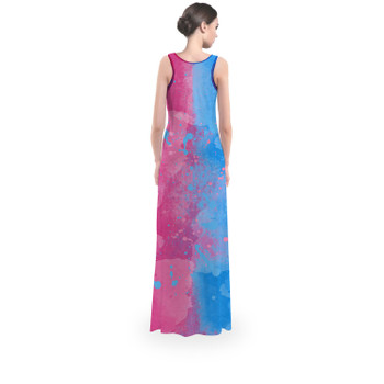 Flared Maxi Dress - Pink or Blue Sleeping Beauty Inspired
