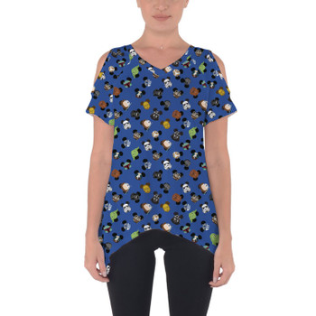 Cold Shoulder Tunic Top - Star Wars Mouse Ears