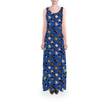 Flared Maxi Dress - Star Wars Mouse Ears