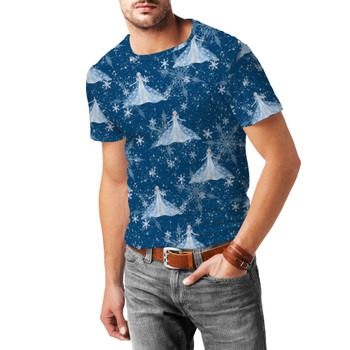 Men's Sport Mesh T-Shirt - Elsa Crystals