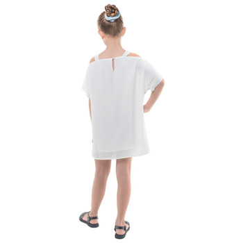 Girls Straight Chiffon Dress