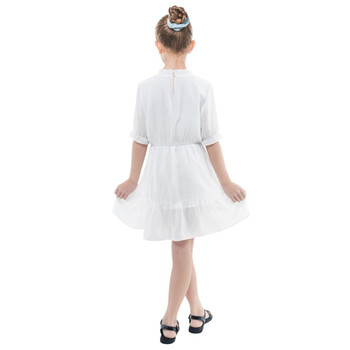Girls Frilly Chiffon Dress