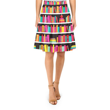 A-Line Skirt - Library Book Case