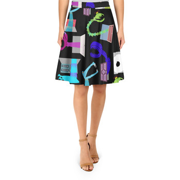 A-Line Skirt - Monsters in Closets