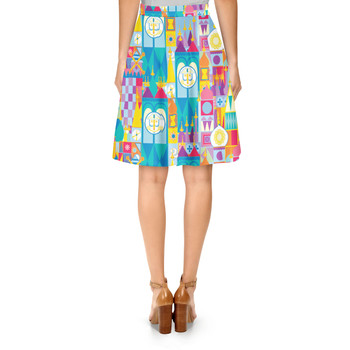 A-Line Skirt - Its A Small World Disney Parks Inspired
