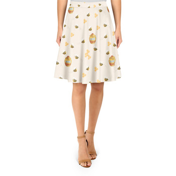 A-Line Skirt - Hunny Pots Winnie The Pooh Inspired