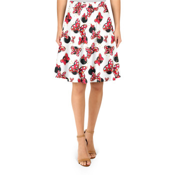 A-Line Skirt - Minnie Bows and Mouse Ears