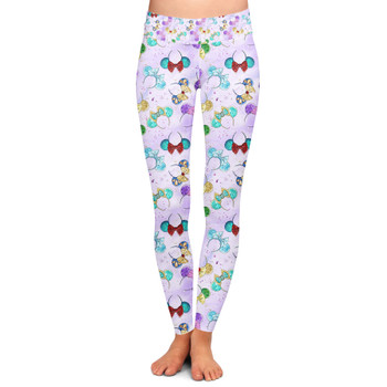 Yoga Leggings - Princess Minnie Ears