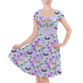 Sweetheart Midi Dress - Princess Minnie Ears