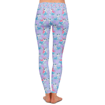 Yoga Leggings - Bruni the Fire Spirit