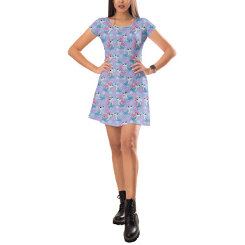 Short Sleeve Dress - Bruni the Fire Spirit