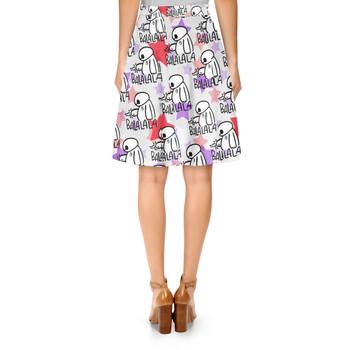 A-Line Skirt - Baymax Balala Big Hero 6 Disney Inspired