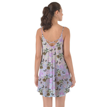 Beach Cover Up Dress - The Asset Goes To Disney SW Inspired Watercolor