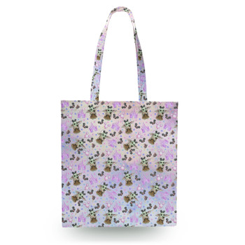 Canvas Tote Bag - The Asset Goes To Disney SW Inspired Watercolor