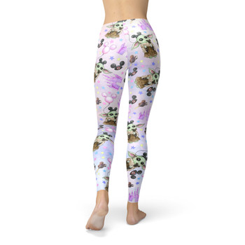 Winter Leggings - The Asset Goes To Disney SW Inspired Watercolor