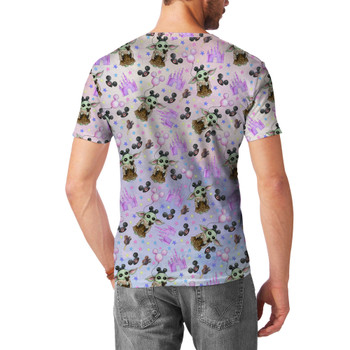 Men's Sport Mesh T-Shirt - The Asset Goes To Disney SW Inspired Watercolor