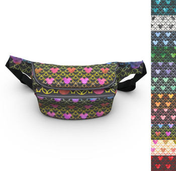 Fanny Pack - Mouse Ears Watercolor