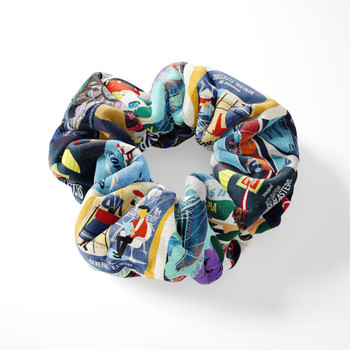 Velvet Scrunchie - Tomorrowland Vintage Attraction Posters