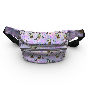 Fanny Pack - The Asset Goes To Disney SW Inspired Watercolor