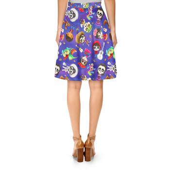 A-Line Skirt - Poco Loco Coco Inspired