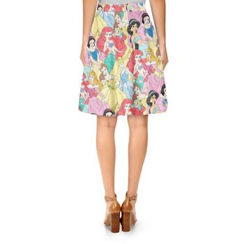 A-Line Skirt - Princess Sketches