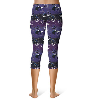Sport Capri Leggings - Oogie Boogie Halloween Inspired