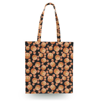Canvas Tote Bag - Mouse Ears Pumpkins Halloween Inspired