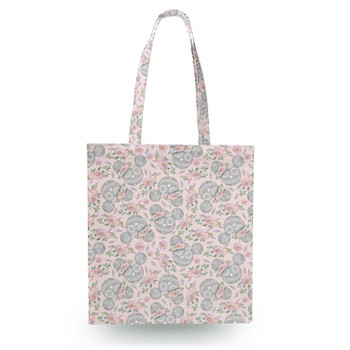 Canvas Tote Bag - Minnie Sugar Skulls Mouse Ears