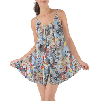 Beach Cover Up Dress - Welcome to Halloweentown