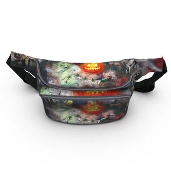 Fanny Pack - Watercolor Nightmare Before Christmas