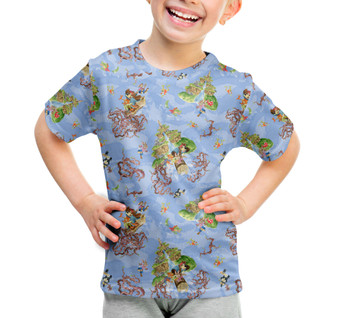 Youth Cotton Blend T-Shirt - Briar Patch Splash