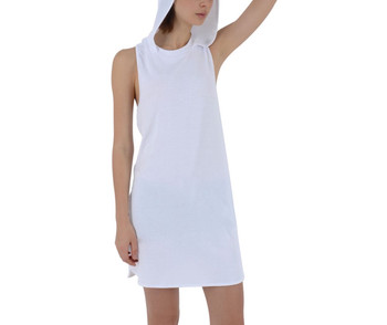 Racer Back Hoodie Dress